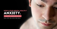 Mental Health Awareness Video Campaign Anúncio do Facebook template
