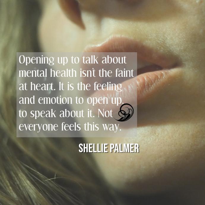 Kutipan Kesehatan Mental Templat Postermywall