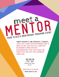 Mentor / Mentorship Flyer Template