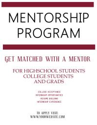 Mentorship / Mentor Program