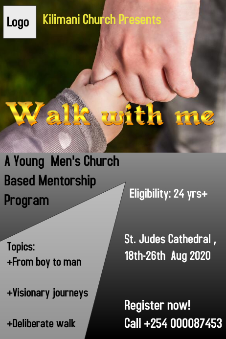 Mentorship Poster Template