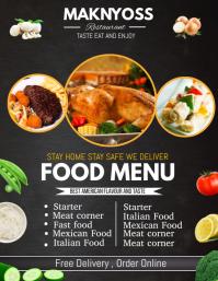 Menu flyers,restaurant flyers