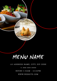 Menu Front Page Template