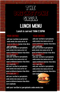 1 880 customizable design templates for lunch menu postermywall