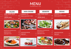 16 550 customizable design templates for menu template postermywall