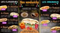 Menuboard Sandwichs Digitale Vertoning (16:9) template