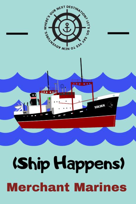 merchant marines/ship/nautical/seamen/sailor