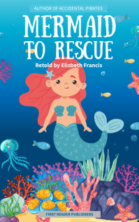 Mermaid Story book Children's Book Cover