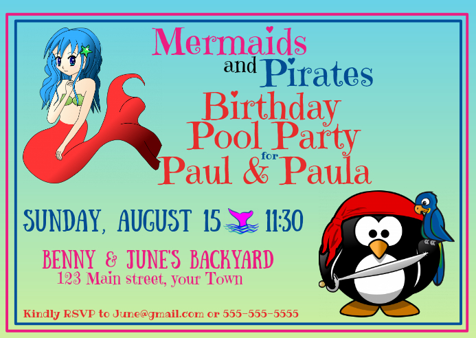Mermaids and Pirates