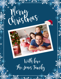 Merry Christmas! Flyer (Letter pang-US) template