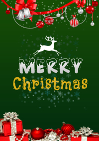 merry christmas 2020 A5 template