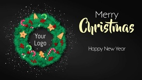 Merry Christmas and a Happy New Year Video ad