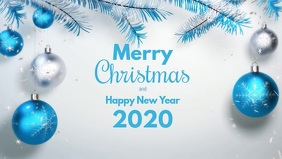 Merry Christmas and a Happy New Year Video