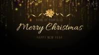 Merry Christmas and Happy New Year Digital Display (16:9) template