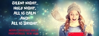 MERRY CHRISTMAS AND NEW YEAR QUOTE TEMPLATE Portada de Facebook