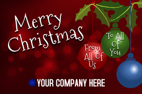 6,230+ Customizable Design Templates for Merry Christmas | PosterMyWall