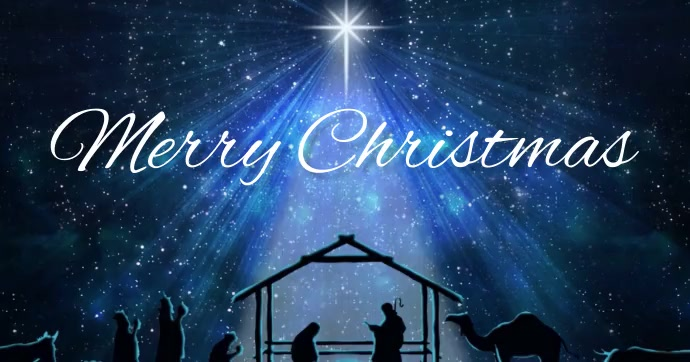 merry christmas card cards online Gambar Bersama Facebook template