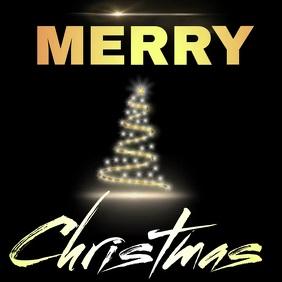 merry christmas card cards online Publicação no Instagram template