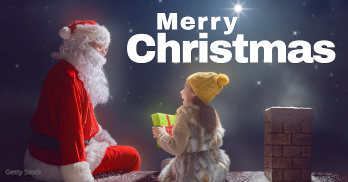 merry christmas Facebook Ad template