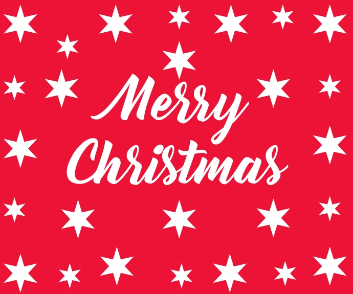 Merry Christmas สามเหลี่ยมขนาดกลาง template