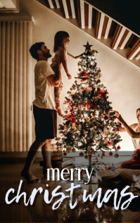 Merry Christmas Kindle/Book Covers template