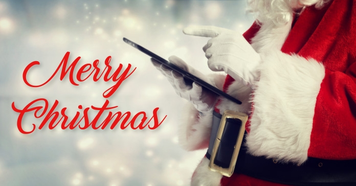Merry Christmas Facebook Shared Image template