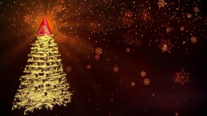 MERRY CHRISTMAS Digital na Display (16:9) template