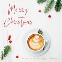 Merry Christmas Kvadrat (1:1) template