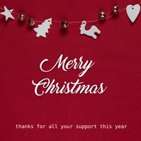 Merry Christmas Instagram 帖子 template