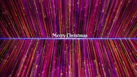 Merry Christmas Facebook Cover Video (16:9) template