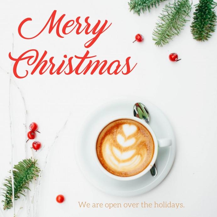 Merry Christmas Cuadrado (1:1) template