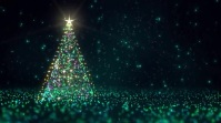 MERRY CHRISTMAS Digitale display (16:9) template