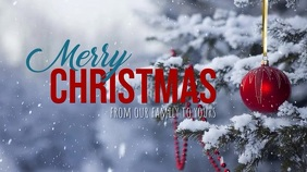 Merry Christmas Digital Display (16:9) template