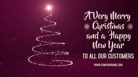 Merry Christmas Digital Template