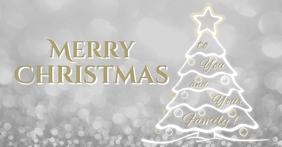 Merry Christmas Facebook Ad