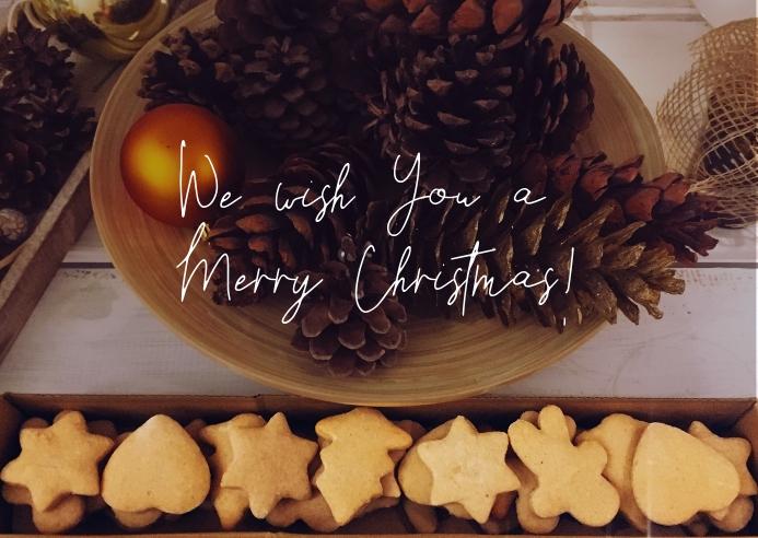 Merry Christmas Facebook Card