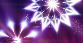 Merry christmas Glam shine Lights Snow Flakes