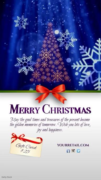 Merry Christmas Greeting Instagram