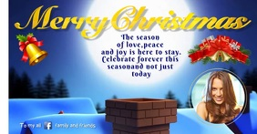 Merry Christmas Greeting Video Template