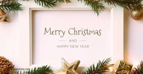 Merry Christmas Greeting Wishes Decoration Ad