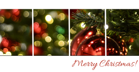 Merry Christmas Greetings Facebook shared Image Photo Template ...