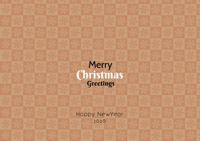Merry Christmas greetings template