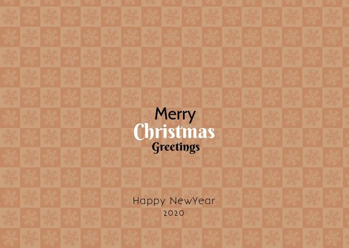 Merry Christmas greetings template