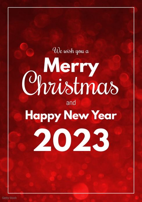 merry christmas happy new year greeting card template postermywall merry christmas happy new year greeting