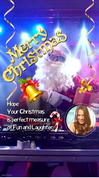 Merry Christmas Instagram Story