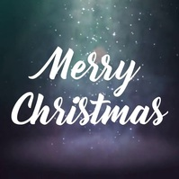 merry christmas instagram video post template