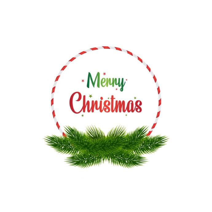 Merry Christmas Logo 徽标 template