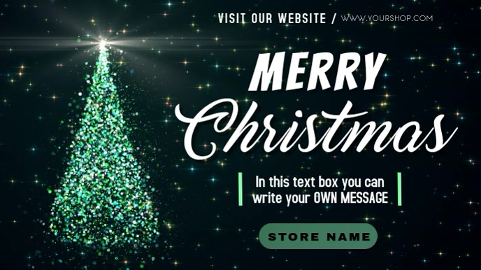 merry christmas message online video