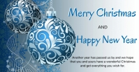 Merry Christmas/ New year Imagem partilhada do Facebook template