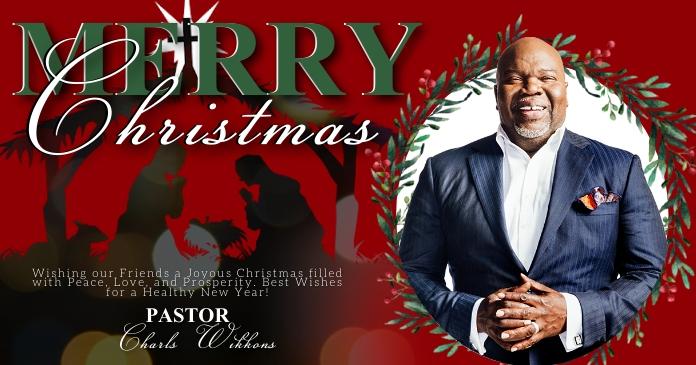 MERRY CHRISTMAS ONLINE TEMPLATE Gambar Bersama Facebook